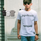 T恤 Signiflcant字母印刷潮流短T【N9598J】