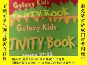 二手書博民逛書店Galaxy罕見Kids《ACTIVITY BOOK Lesso