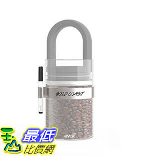 [106美國直購] Prepara 7001 密封罐標籤夾 Stainless Steel Label Clip for Small, Medium and Large EVAK Containers