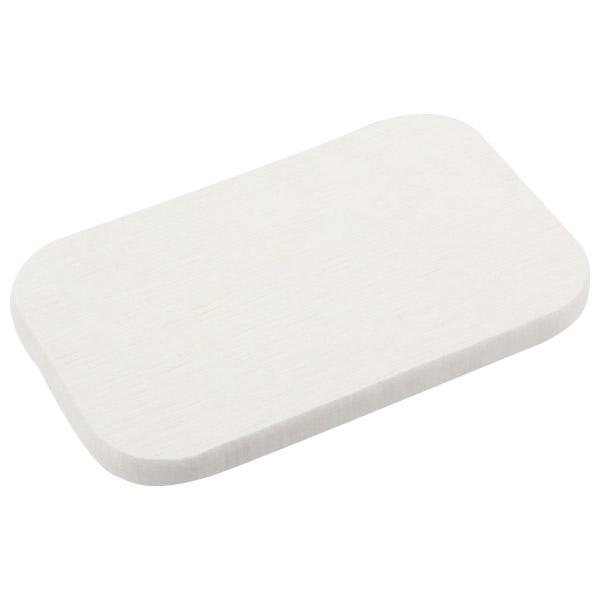 珪藻土吸水皂盤長方型 白 NITORI宜得利家居