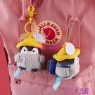 日系企鵝小公仔書包掛件毛絨玩偶掛飾情侶可愛鑰匙扣品牌【公主日記】