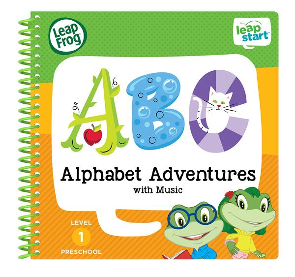 LEAP FROG 跳跳蛙 LeapStart Jr. Books幼兒2-字母ABC