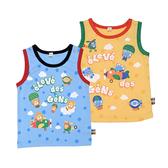 日本西松屋 背心無袖上衣 黃藍飛機 | 男寶寶衣服(嬰幼兒/小孩/baby)