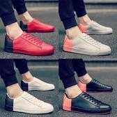 男鞋子時尚潮鞋白色板鞋阿甘跑鞋青年運動休閒鞋 交換禮物