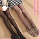 光腿神器 空姐灰一體透膚打底連褲襪刷毛加厚光腿假透肉神器絲襪女春秋冬款