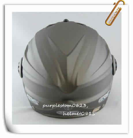 林森●GRS半罩安全帽,半頂式,瓜皮帽,雪帽,760,W鏡片款,消光灰