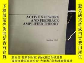 二手書博民逛書店ACTIVE罕見NETWORK AND FEEDBACK AMP