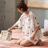睡衣 女夏季薄款純棉韓版可愛短袖短褲夏天閨蜜全棉兩件套裝家居服 - 風尚3C