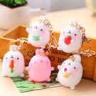 【99免運】超萌韓國可愛兔子扣包包挂件手機女鑰匙圈