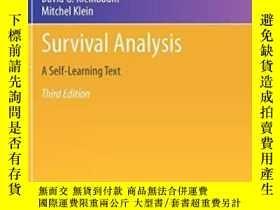 二手書博民逛書店Survival罕見Analysis-生存分析Y436638 David G. Kleinbau... Spr