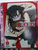 挖寶二手片-X20-065-正版VCD*動畫【超能R.O.D(1)】-日語發音