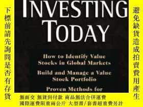 二手書博民逛書店Value罕見Investing TodayY255562 Ch