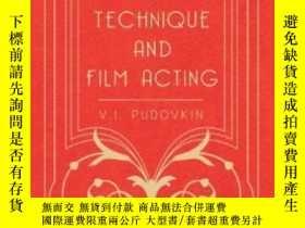 二手書博民逛書店Film罕見Technique And Film Acting - The Cinema Writings Of
