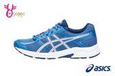 ASICS Gel-Contend 4 慢跑鞋 女鞋 大童鞋 透氣運動鞋 H8330#藍色◆OSOME奧森童鞋