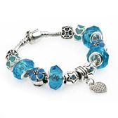 飾品手鏈串珠首飾 水晶琉璃復古手鏈s48