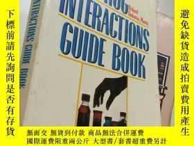 二手書博民逛書店Drug罕見Interactions Guide Book【16