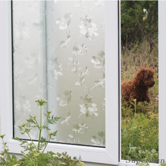 靜電窗戶玻璃貼紙衛生間透光不透明磨砂玻璃貼 禮物jy【中秋節禮物八折搶購】