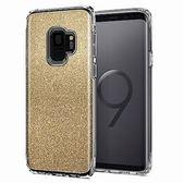 [富廉網] 【Spigen】Galaxy S9 Slim Armor Crystal 複合式防震保護殼 琥珀金/粉晶