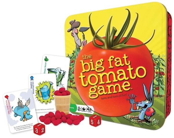 [楷樂國際] 蕃茄鬥一番 The Big Fat Tomato Game #Gamewright 桌遊