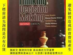 二手書博民逛書店Critical罕見Thinking and Decision Making SECOND EDITIONY