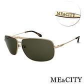 【南紡購物中心】【SUNS】ME&CITY 飛行員金屬方框款太陽眼鏡 抗UV400(ME21204 A01)