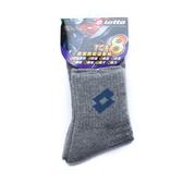 LOTTO 專業機能運動棉短襪 灰