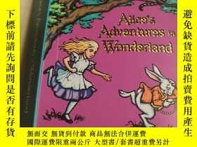 二手書博民逛書店Alices罕見Adventures in Wonderland