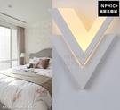 INPHIC-臥室LED床頭燈幾何走道燈藝術牆壁燈led燈簡約現代北歐_U34r