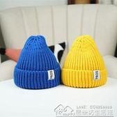 兒童帽子男潮秋冬季保暖女童護耳針織毛線帽韓版中大童寶寶套頭帽 居樂坊生活館