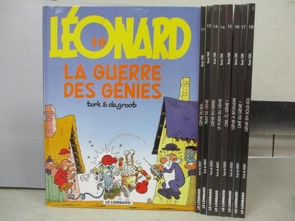 【書寶二手書T7/少年童書_RCR】Le Lombaro_10~18期間_共9本合售_Trait de Genie等