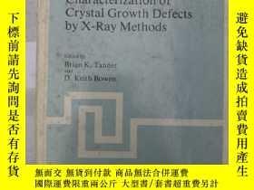 二手書博民逛書店characterization罕見of crystal gro