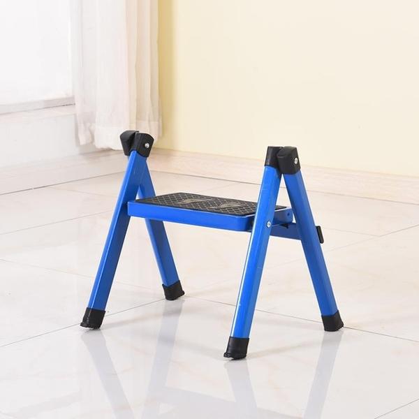 商品任何問題請留言福臨喜一步梯家用梯人字梯折疊梯兒童梯子一層花架矮梯新品花架梯