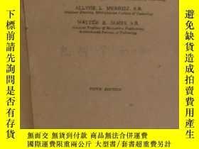 二手書博民逛書店ELEMENTS罕見OF Mechanism(結構學初步、全英文