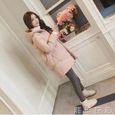 冬季外套棉服女韓版寬鬆學生棉衣中長款新款棉襖ins面包服潮  潮流衣舍