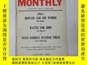 二手書博民逛書店1963年外文原版罕見勞工月刊(labour monthly)第