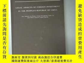 二手書博民逛書店LEGAL罕見ASPECTS OF FOREIGN INVEST