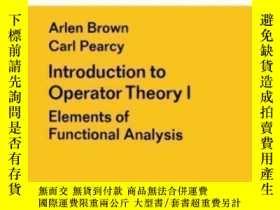 二手書博民逛書店Introduction罕見To Operator Theory I-算子理論導論IY436638 A. Br