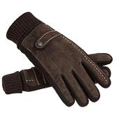 騎行手套系列 皮手套男冬季加絨騎行保暖加厚觸屏韓版冬天戶外騎車摩托車棉手套 快意購物網