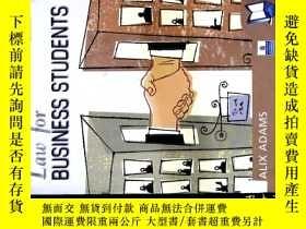 二手書博民逛書店LAW罕見FOV BUSINESS STUDENTSY26938