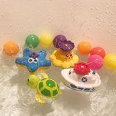 店長推薦▶寶寶洗澡玩具兒童玩水電動噴水章魚嬰兒玩水男孩女孩戲水玩具