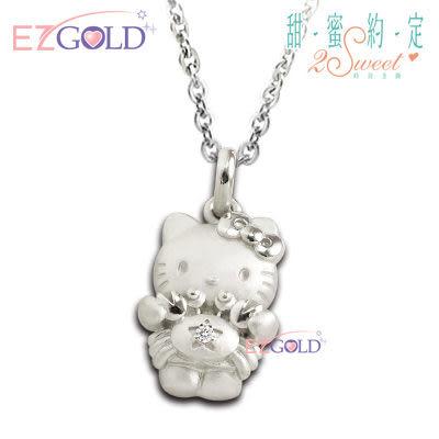 Hello Kitty凱蒂貓 ♥巨蟹座(6/22~7/22)♥ 星座銀飾墜子