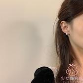 無耳洞耳飾精致小巧珍珠耳釘小眾設計感耳夾女氣質韓國耳環【少女顏究院】