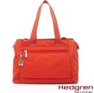 Backbager 背包族【比利時Hedgren】HIC -Inner City 都會系列-多夾層兩用托特包-中(橘色)