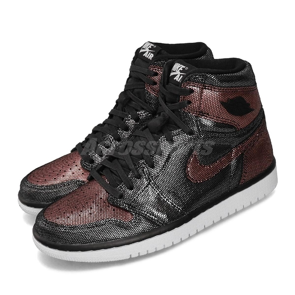 Nike Wmns Air Jordan 1 Hi OG Fearless 黑 紅 女鞋 灌碎3.0 運動鞋【PUMP306】 CU6690-006