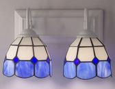 設計師美術精品館蒂凡尼燈具壁燈 衛浴浴室鏡燈tiffany 地中海鏡前燈 過道燈床頭燈