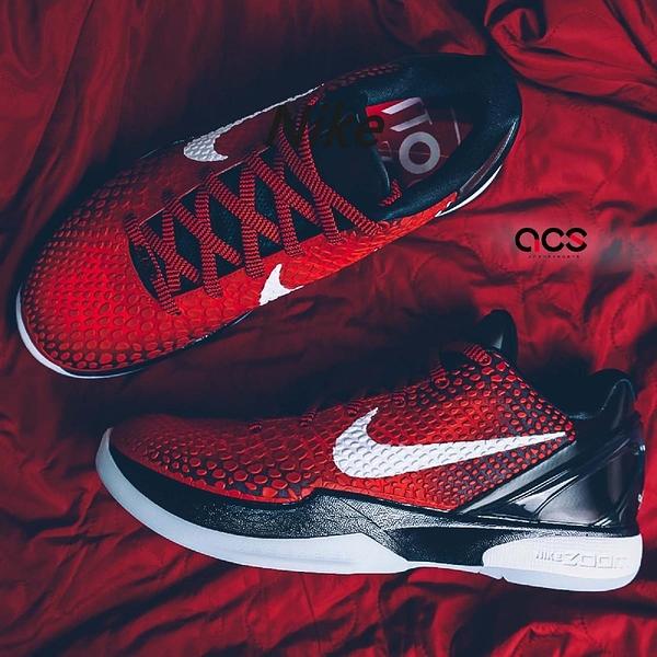 Nike 籃球鞋 Kobe VI 6 Protro ASG 紅 白 男鞋 明星賽 曼巴 老大 運動鞋 【ACS】 DH9888-600