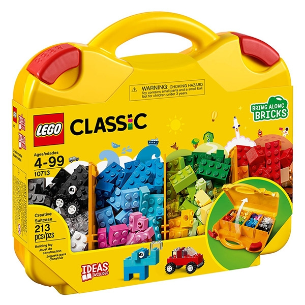 【愛吾兒】LEGO 樂高 經典系列 10713 創意手提箱