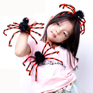 【BlueCat】萬聖節黑蜘蛛拍拍手環胸針髮箍