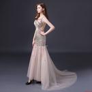(45 Design)   夜店 性感 手工水鑽 客製化顏色大尺碼訂做訂做 日韓婚紗禮服 高級訂製服 連身裙3