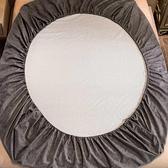 老粗布床笠單件全棉床罩防滑固定加厚純棉夏天床墊套兒童定做訂制
